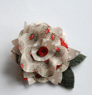 Blooming Flower Hair Clip