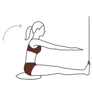 Move 1: Straight-Leg Stretch