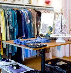 vintage clothing stores real simple