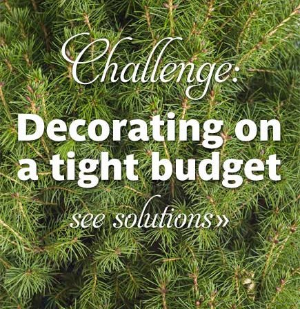 Challenge: Decorating on a Tight Budget