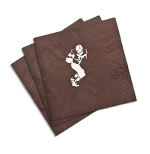 Football Player Personalized Napkins