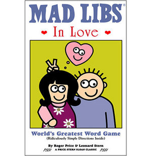 Gift Ideas for Men: Mad Libs in Love