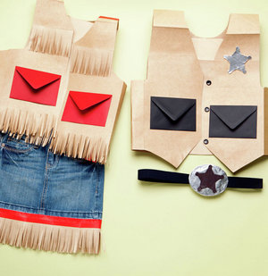How To: Make Cowgirl and Sheriff Costumes