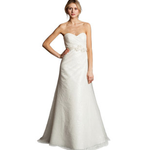 Wedding fashion 101 real simple for Real simple wedding dresses
