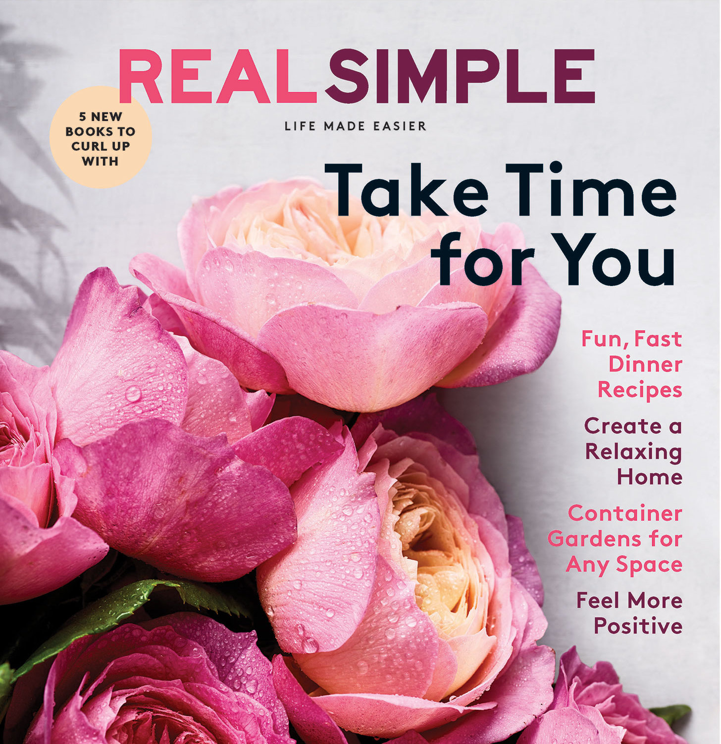 May 2019 Real Simple Cover