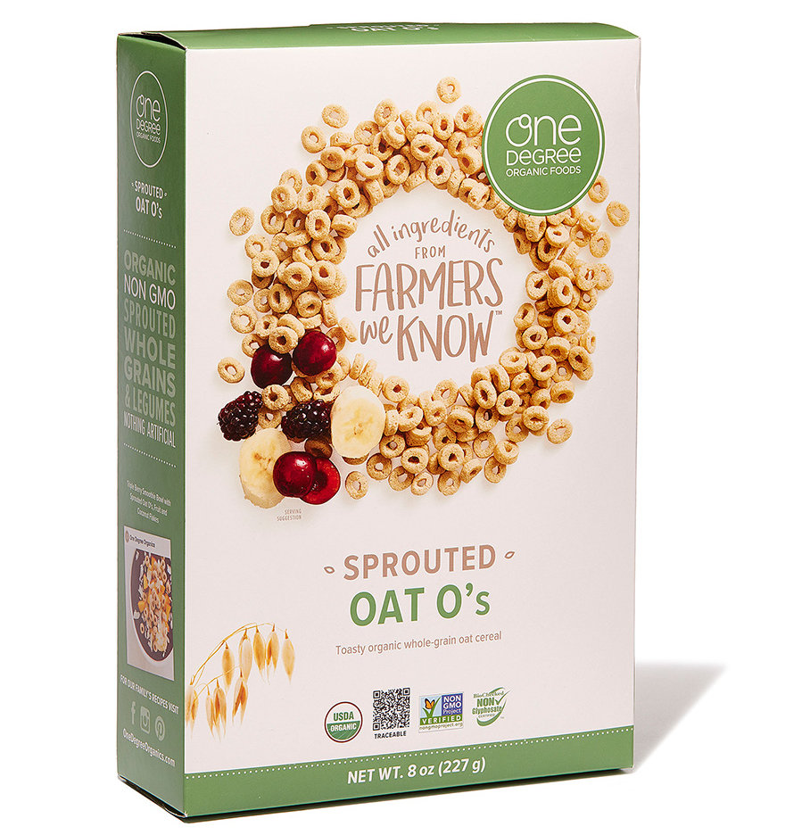 Best O's: One Degree Organic Foods Sprouted Oat O's