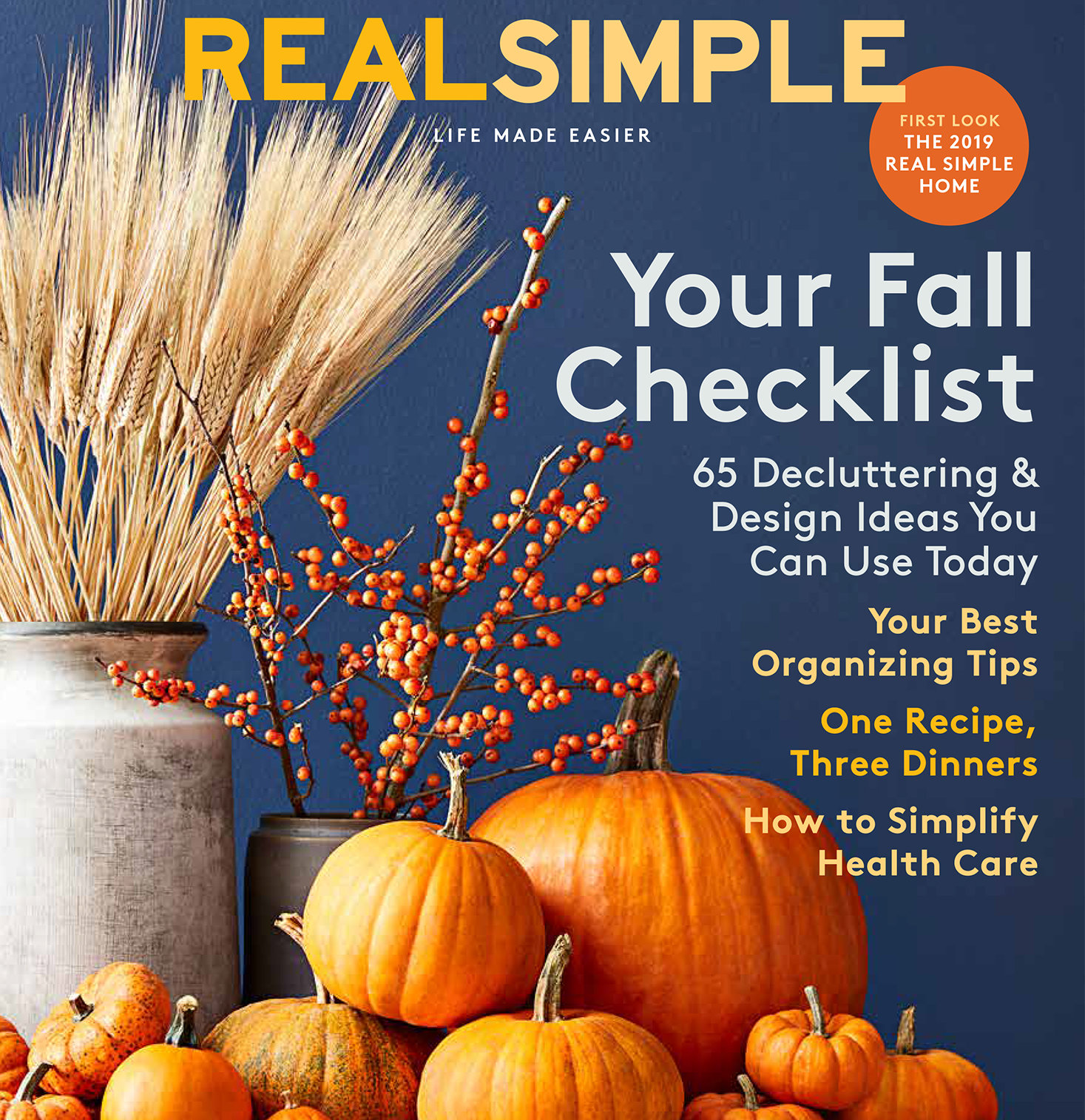 Real Simple October 2019