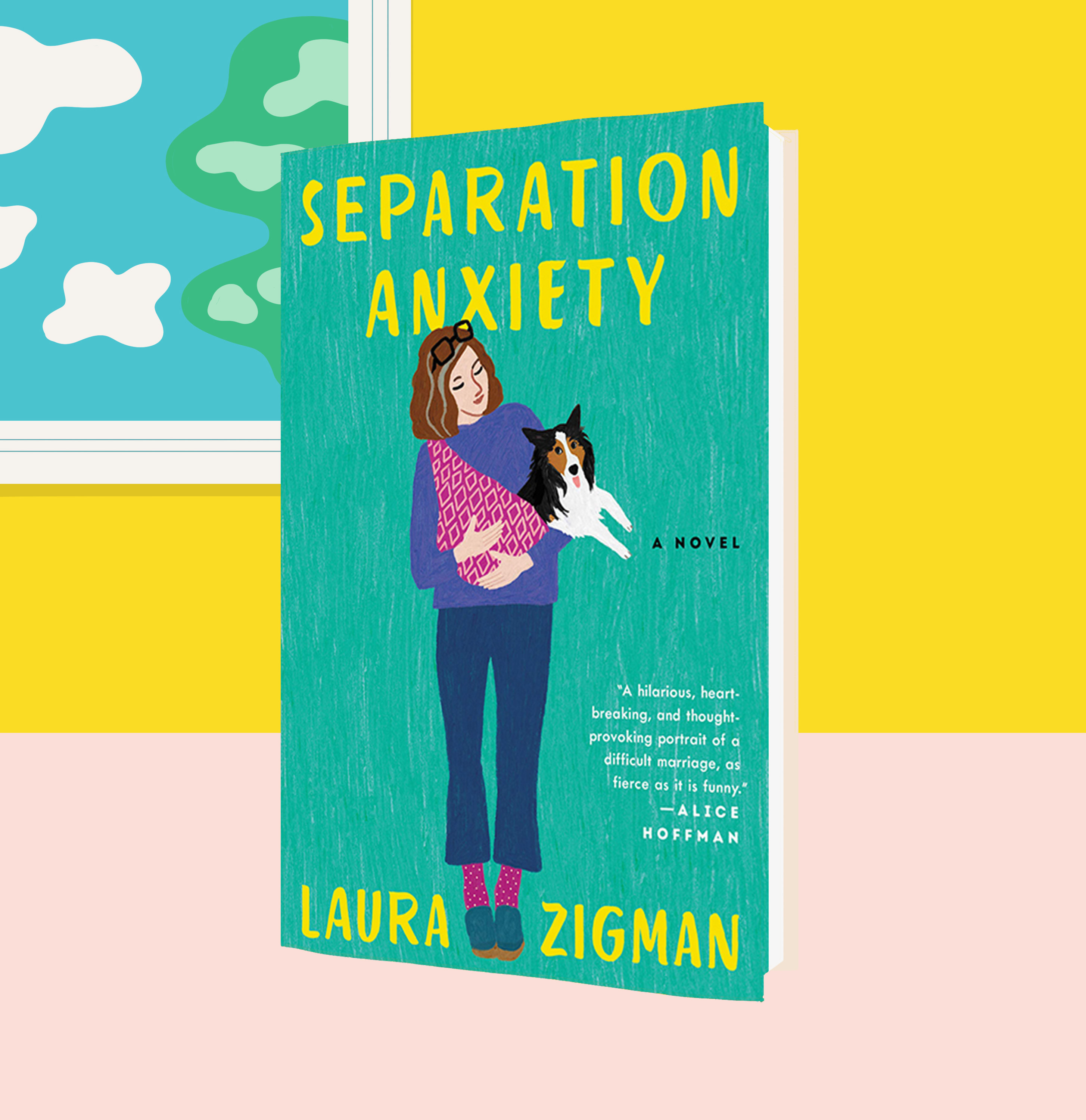Cover of Separation Anxiety, by Laura Zigman
