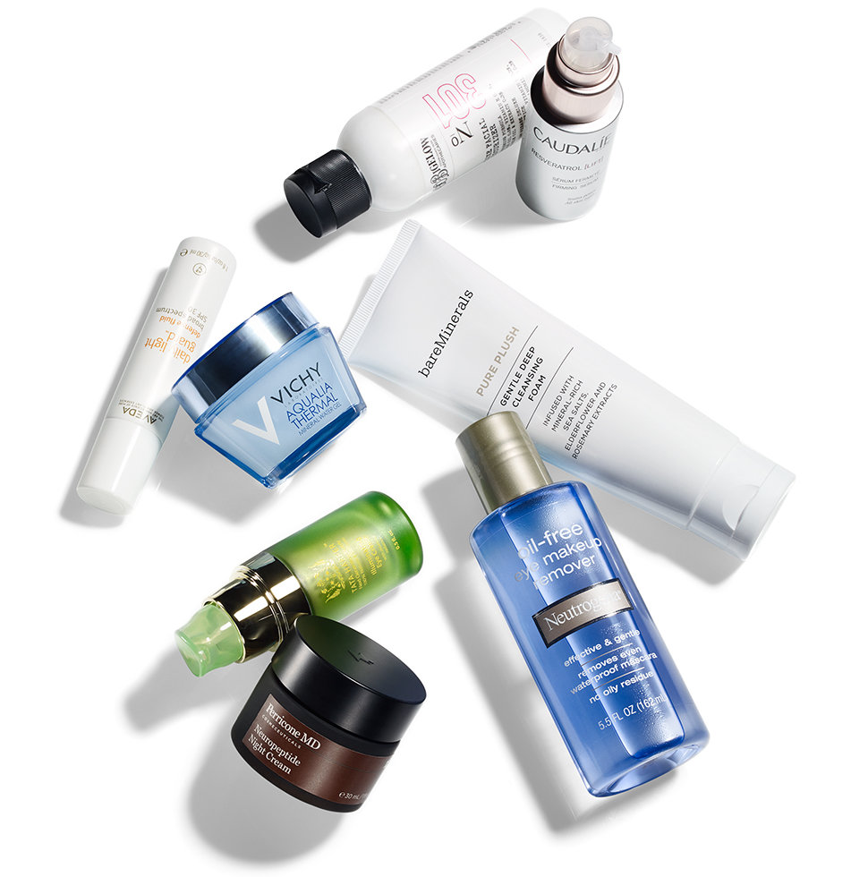 Beauty products, which first?