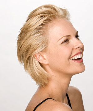Easy Swept-Back Hair Sexy, Short Hairstyles - Real Simple