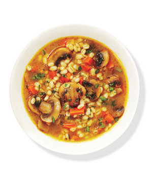 Mushroom Barley Soup | Healthy Whole Grain Recipes - Real Simple