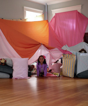 how to build a fort inside