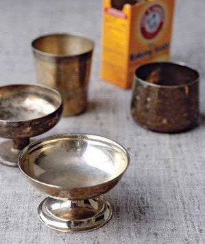 Use baking soda to clean silver real simple s most for Baking soda silver polish jewelry