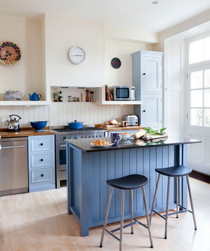 True Blue | 19 Amazing Kitchen Decorating Ideas - Real Simple