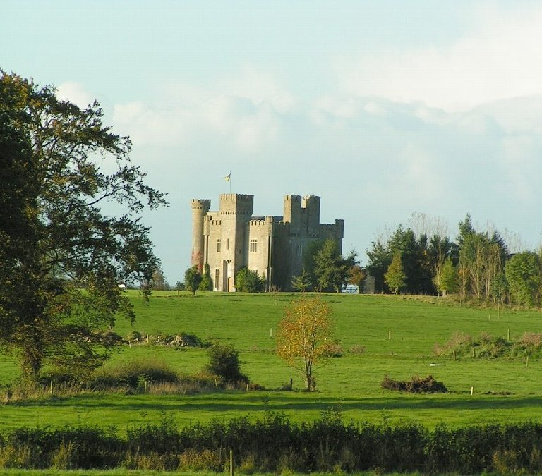 lisheen castle castle wedding venues real simple