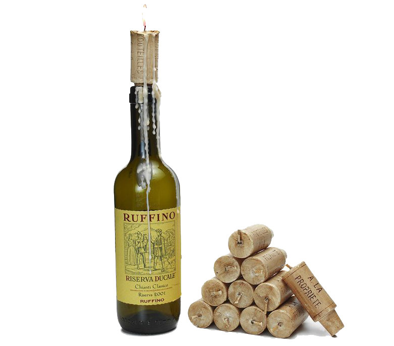Wine cork candles 10 gifts for a new boyfriend or for Wine cork replacement