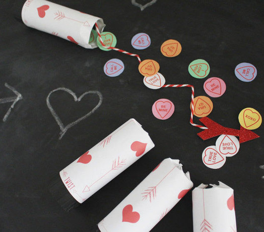 6 DIY Valentine's Day Party Decorations