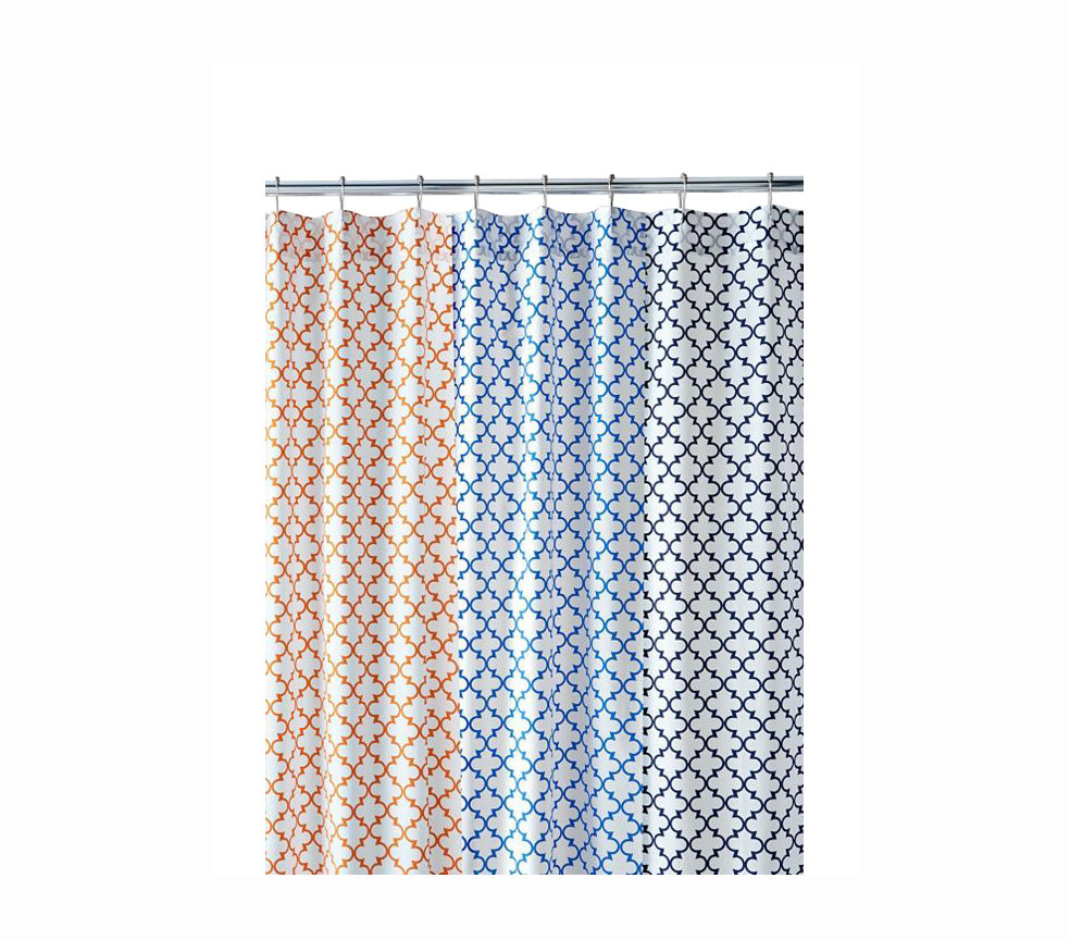 everyday tile shower curtain stand out shower curtains