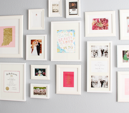 Living Room Gallery Wall Diy Projects For Every Room