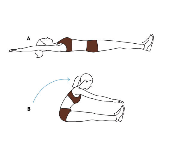 illustrationofwomendoingabdominalexercises