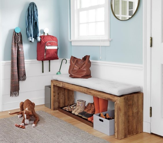 Foyer Mudroom Kits : Organize the entryway real simple