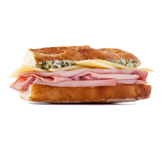 how to make the best ham and cheese sandwich