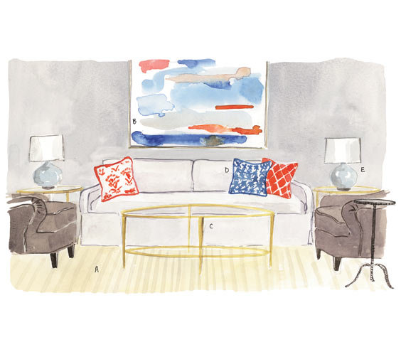 Rules for the living room smart decorating tricks for for Room design rules