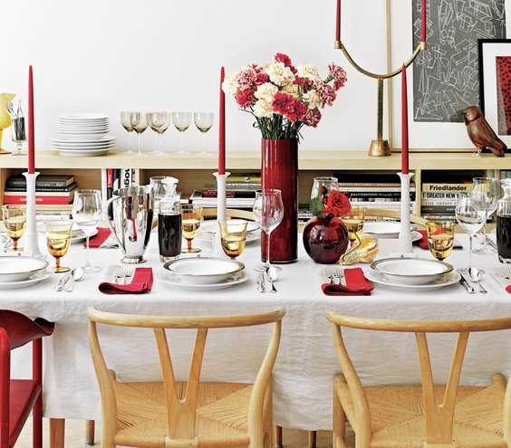 Dinner Table Setup Images: 15 Simple Dinner Party Ideas
