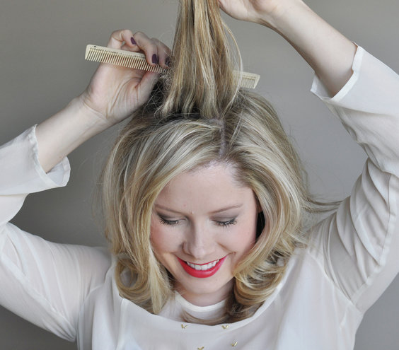 Peachy Step 1 How To Do Elegant Curls Real Simple Hairstyle Inspiration Daily Dogsangcom
