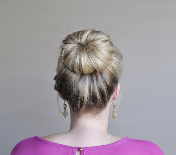 Pleasing Step 5 How To Make A Fancy Bun Real Simple Hairstyles For Women Draintrainus
