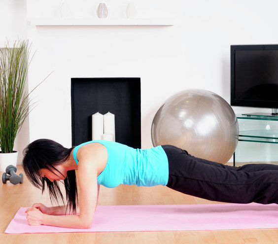 Simple exercise routine to lose weight