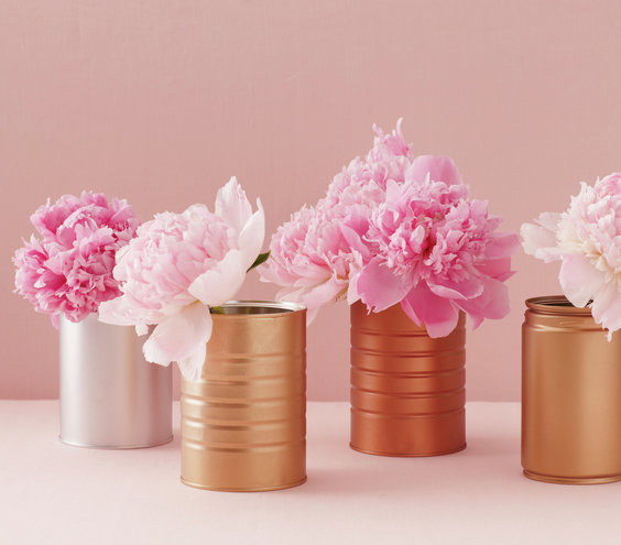 15 minute diy centerpieces real simple for Homemade table decorations