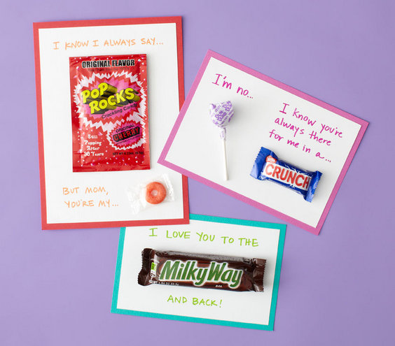 Candy Cards 6 Creative Mother 39 S Day Crafts And Card