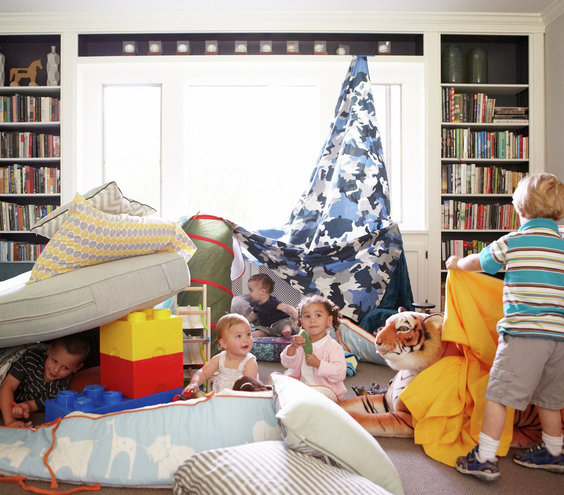 Let Kids Take Charge Amazing Blanket Fort Ideas Real