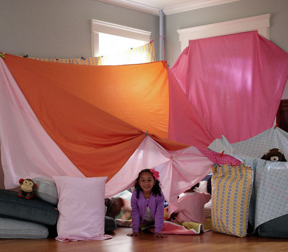 Build Your Own : Amazing Blanket Fort Ideas - Real Simple