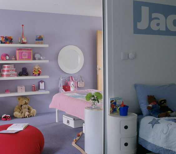 Shared Kids Room Decor: Shared Bedroom Ideas For Kids
