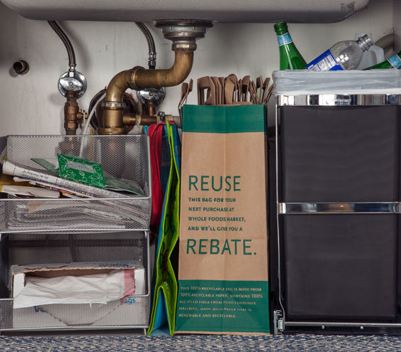 Organize Kitchen Trash Amp Recycling The Strategy Easy