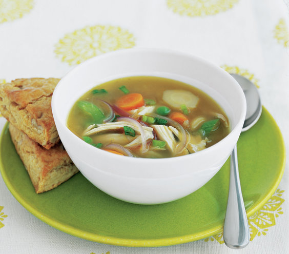 Easy chicken vegetable soup recipes