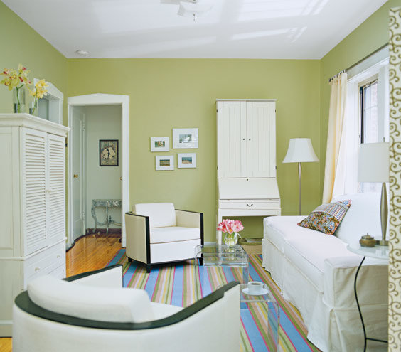 Trick A Small Space Into Feeling Bigger Living Room Decorating Ideas.  Motives ...