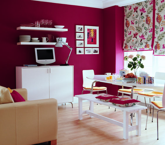 Colorful Rooms With A View: Colorful Decorating Ideas For A Small Room