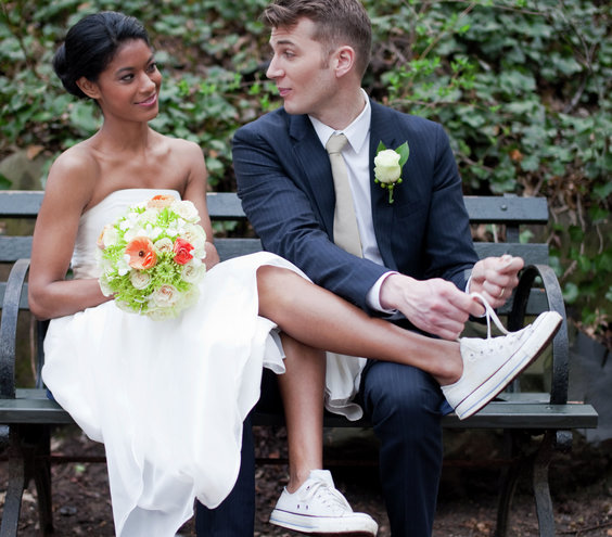 tying-sneakers_gal Is a Pop-Up Wedding For You?