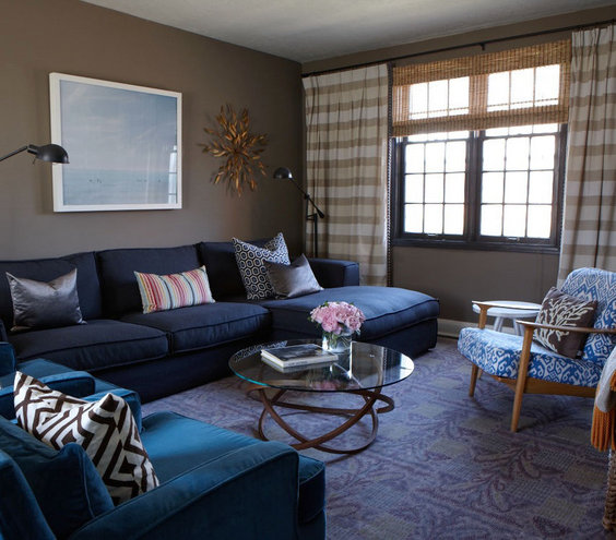 Blue Living Room Designs Charcoal Gray Intended Ideas Part 44