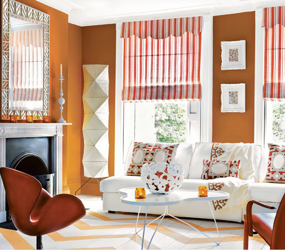 Colorful Rooms With A View: If You Gravitate To Soft, Warm Shades…