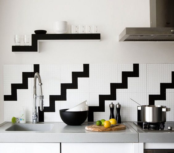 19 amazing kitchen decorating ideas real simple - Simple kitchen tiles ...