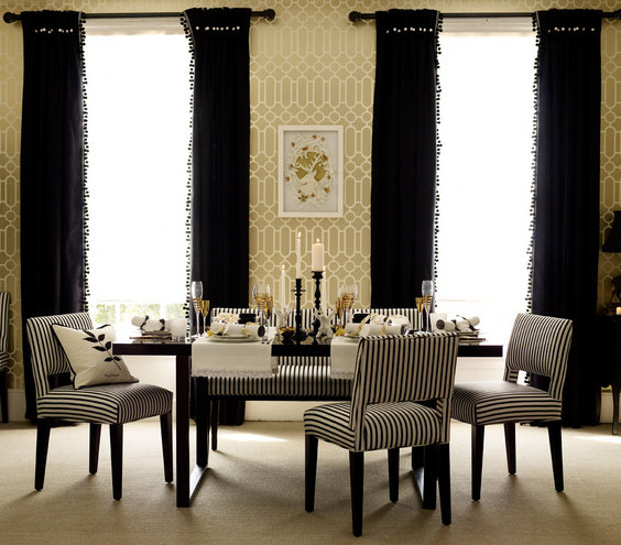 32 Elegant Ideas For Dining Rooms: 32 Elegant Ideas For Dining Rooms - Real Simple