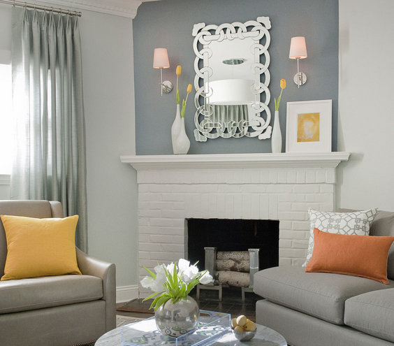 Silver accents 33 modern living room design ideas real simple - Silver living room designs ...