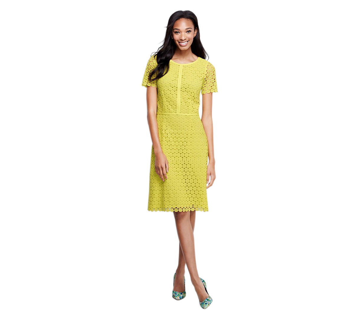 Galerry yellow sheath dress outfit