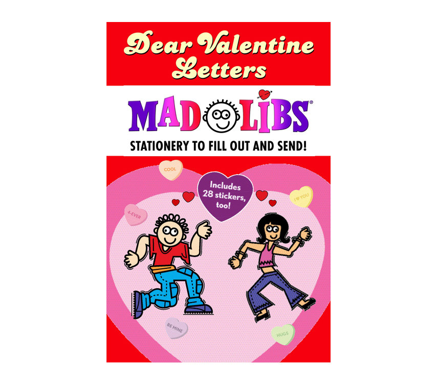 Dear Valentine Letters Mad Libs 43 Cute Valentine S Day
