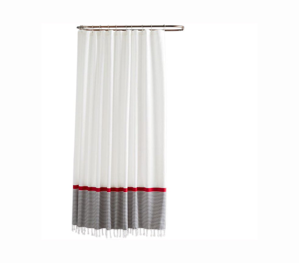 stand out shower curtains real simple
