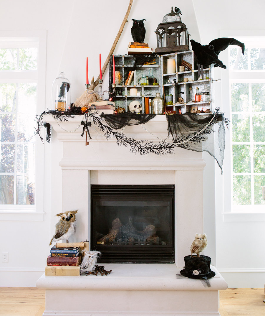 26 Interesting Living Room Décor Ideas Definitive Guide: 10 Creative Places To Decorate Your House For Halloween